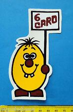 PATATA 6 CARO - adesivo-sticker anni '80 - NUOVO-NEW -A115