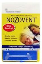 Nozovent Anti-Snoring Device For Peaceful Sleep 1 ea (Pack of 9)
