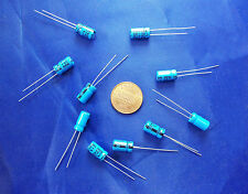 Electrolytic Capacitors, 47uf/microfarad, 50v/volt,  Radial, 6x11mm, Quantity 10