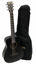 Martin LX1BLACK Black Little Martin Acoustic Guitar with Padded Gig Bag