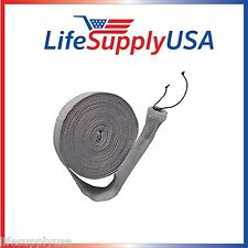 30 FEET KNITTED CENTRAL 30FT VACUUM HOSE COVER SOCK VACSOCK W APPLICATION TUBE