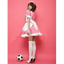 NEW French Housekeeper Cosplay Maid Outfit Waitress Fancy Dress Ruffle Costume