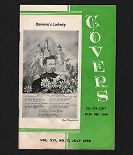 OPC July 1956 Covers and Postal Stationary 34pg Magazine Van Dalh Publication
