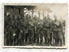 Foto, Luftwaffe, Soldaten auf dem Bahnhof in Königsberg, Kaliningrad, (W)1400