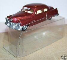 MICRO PRALINE HO 1/87 CADILLAC 1954 LIMOUSINE MARRON METAL IN BOX