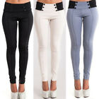 Fashion Women's Slinky Pencil Pants Trousers Stretch Leggings Casual Trousers
