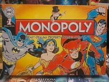 MONOPOLY DC COMICS ORIGINAL SPECIAL EDITION - HASBRO NEW ENG