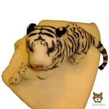 Small Baby White Tiger Cub 30cm DELUXE PAWS ®