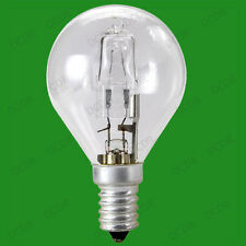 12x 28W =37W Halogen Dimmable Clear Round Golf Energy Saving Light Bulbs SES E14