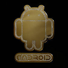 Android Androbot Metal decal sticker Graphic Deco For Desktop Laptop Tablet PC