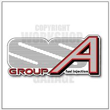 VL SS Group A Holden Commodore Walkinshaw - Stickers