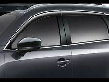Mazda CX-9 2016-2017 Brand New OEM Side Window Deflectors TK78-V3-700