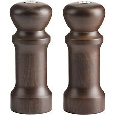 "TRUDEAU Salt And Pepper Shaker Set 5.5"" Wood"