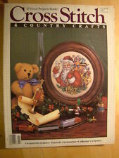 Cross Stitch & Country Crafts Magazine November 1988  25 Projects Ornaments