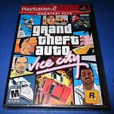 Grand Theft Auto: Vice City Greatest Hits Sony PlayStation 2 *New! *Free Ship!