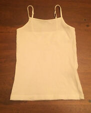 EUC girls white layering tank XS 4 5 perfect for under Halloween costumes