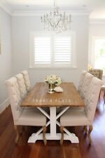NEW Hamptons Style Reclaimed Timber Dining Table