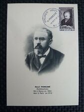 FRANCE MK 1952 POINCARE MATHEMATIKER MAXIMUMKARTE CARTE MAXIMUM CARD MC CM a8929