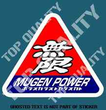 OPTION MUGEN POWER Decal Sticker Illest Vintage JDM DRIFT RALLY DECALS STICKERS