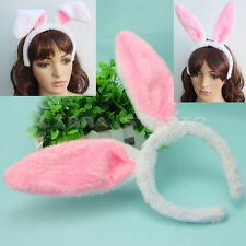 New Party Halloween Dress Up Lovely Rabbit Bunny Ears Headband Hair Accessories