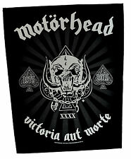Motorhead Victoria Back Patch rock heavy metal leather denim backpatch lemmy