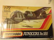 MATCHBOX 1/72 JUNKERS JU 188 AIRCRAFT MODEL KIT BINB SEALED