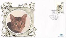 (80946) Netherlands Antilles Benham FDC Cats - 29 September 1995