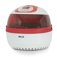 Cooking Digital Air Fryer Multi Function Timer Grill Roast Fry 10qt Kitchen -Red