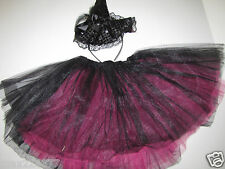 New Child Witch headband hat & tutu Halloween Costume girl toddler 3-6 years