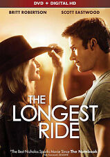 The Longest Ride (DVD, 2015) NEW DVD + Digital HD New & Sealed