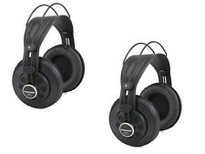 Samson SR850 Twin Pack of Headphones - Professional Studio Reference Closed Back