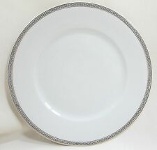 Thun  Dinner Plate Greek Key White with Gold Trim Germany