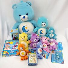 Care Bears Mixed Lot of Dolls & Games Bedtime Funshine Cheer