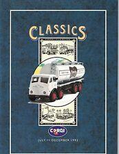 1993 Corgi CLASSICS CATALOG JULY-DECEMBER