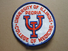 University Of Illinois College Of Medicine Woven Cloth Patch Badge (L1K)