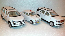 TOY MODELS OF XUV 500, AMBASSADOR CAR & FORTUNER -(WHITE)-CENTY TOYS-KIDSTOYSHUB