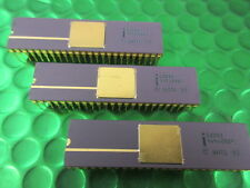 C8208, DRAM CONTROLLER, (8086 Family) Vintage 48 PIN Gold IC. Collectable, Rare