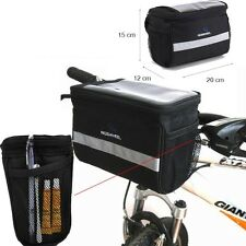 Cycling Bike Bicycle MTB Front Basket Handlebar Bar Bag Quick Release ROSWHEEL