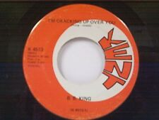 "B B KING ""I'M CRACKING UP OVER YOU / POWER HOUSE"" 45 NEAR MINT"