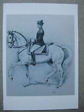 Affiche : écuyer en chef du Cadre Noir de Saumur