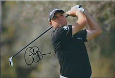 Graeme STORM SIGNED AUTOGRAPH 12x8 Photo AFTAL COA Walker CUP
