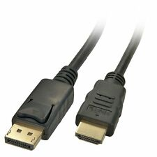 Displayport DP to HDMI Adapter Cable For Dell ThinkPad Lenovo HP PC 3m /10 ft