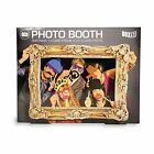 Box 51 Photo Booth Large Picture Frame & 24 Props Funny Face FREE FAST DELIVERY