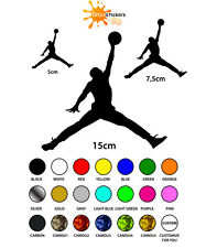KIT 3 STICKERS ADESIVO AIR JORDAN PER MOTO IPAD PHONE CONSOLE VARI COLORI ST-001