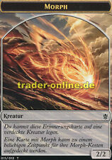 2x Spielstein - Morph (Token - Morph) Khans of Tarkir Magic