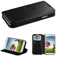 Black MyJacket Wallet Phone Protector Cover Case for Samsung Galaxy S4