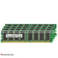 Samsung 4GB Kit 4x1GB PC3200 DDR400MHz DDR1 DIMM Memory For Apple Power Mac G5