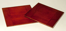 """1 Lensboard 5"""" x 5"""" for FOLMER & SCHWING 7x17 Camera, made of Cherry, free hole"""