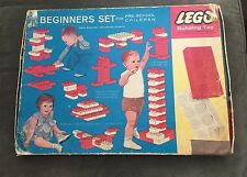 Vintage 1964 Samsonite Corp Lego Set No. 041 Beginner's Bricks Box VERY RARE