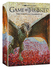 NEW  Game of Thrones: The Complete 1-6 Seasons 1 2 3 4 5 6 (DVD, 2016) 30 DISC